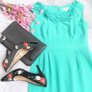 NWOT Dressbarn Green Dress